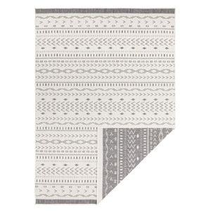 Šedo-krémový venkovní koberec Bougari Kuba, 230 x 160 cm