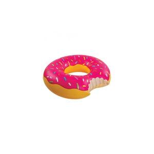 Růžový nafukovací kruh Gadgets House Donut, Ø 105 cm