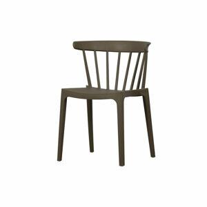 Zelená zahradní židle WOOD Bliss