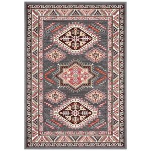 Šedý koberec Nouristan Saricha Belutsch, 120 x 170 cm