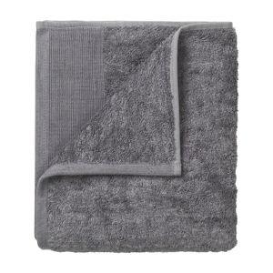 Sada 4 tmavě šedých bavlněných ručníků Blomus, 30x30cm