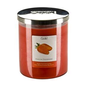 Aroma svíčka s vůní jahod Copenhagen Candles, doba hoření 70 hodin