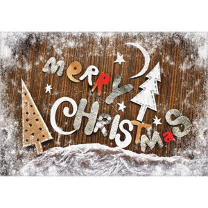 Koberec Vitaus Christmas Period Cute Sign, 50 x 80 cm