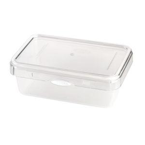 Bílá dóza na potraviny Vialli Design, 1100 ml