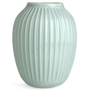 Mentolově modrá kameninová váza Kähler Design Hammershoi,výška 25 cm