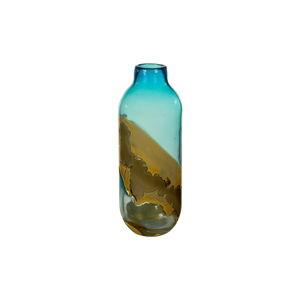Ručně vyráběná křišťálová váza Santiago Pons Ocean, výška33cm
