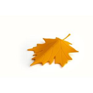 Žlutý dveřní klín ve tvaru listu Qualy&CO Autumn