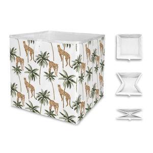 Úložný box Butter Kings Cheetah Paradise, 32 x 32 cm