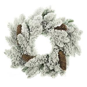 Vánoční věnec DecoKing Anne Snieg Szyszka