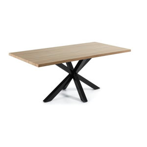 Jídelní stůl v dekoru dubového dřeva La Forma, 200 x 100 cm