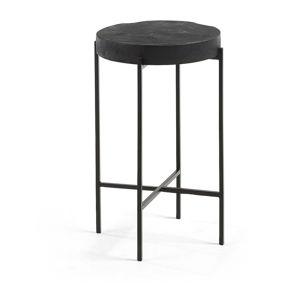 Černý stolek La Forma Existence