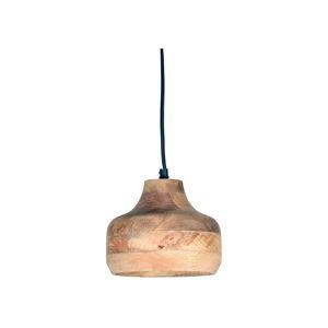 Stropní svítidlo zmangového dřeva LABEL51 Finn, ⌀18cm