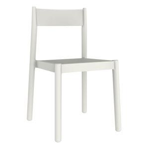 Sada 4 bílých zahradních židlí Resol Danna