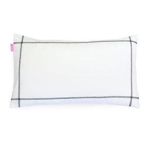 Sada 2 bavlněných povlaků na polštář Happy Friday Basic Black, 50x80cm