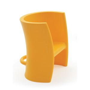 Žlutá dětská židle Magis Seggiolina Trioli