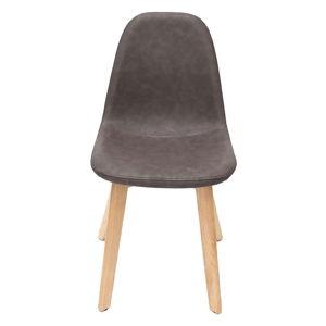 Antracitová jídelní židle LABEL51 Urban