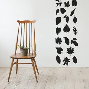 Samolepka na stěnu Leaves, 50x70 cm