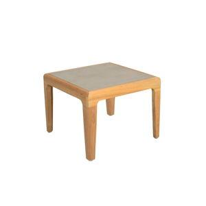 Zahradní odkládací stolek z teakového dřeva s HPL deskou Ezeis Aquariva