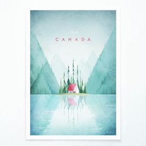 Plakát Travelposter Canada, A2