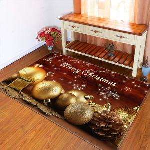 Koberec Vitaus Christmas Period Balls, 50 x 80 cm
