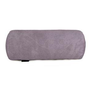 Fialový dekorativní polštář Velvet Atelier, 50 x 20 cm