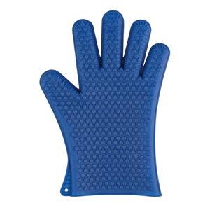 Modrá silikonová rukavice do trouby Wenko Glove