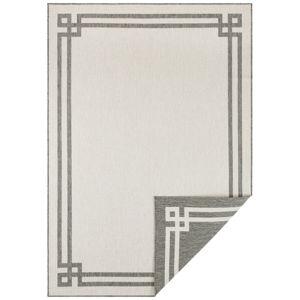 Šedo-krémový venkovní koberec Bougari Manito, 200 x 290 cm