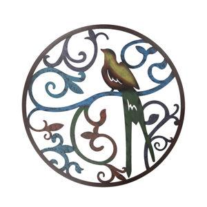 Železná nástěnná dekorace Clayre&Eef Dove