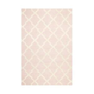 Vlněný koberec Ava Baby Pink, 152x243 cm