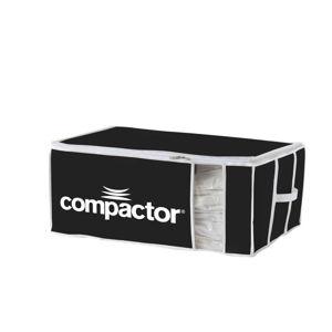 Černý textilní úložný box Compactor Brand XXL