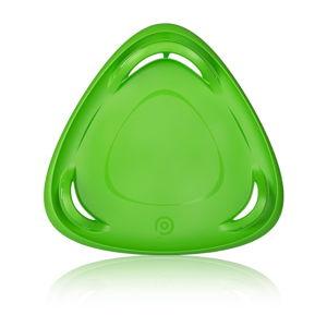 Zelený sáňkovací talíř Gizmo Meteor, ⌀ 70 cm