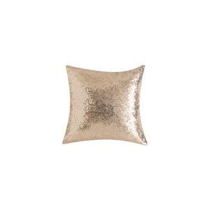 Béžový polštář s flitry Bella Maison Diamond, 40 x 40 cm