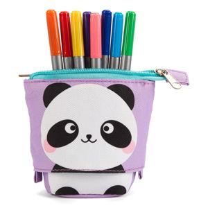 Penál a skládací stojan na tužky v jednom Tri-Coastal Design Panda