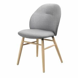 Šedá jídelní židle Unique Furniture Teno