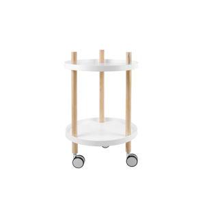 Pojízdný dvoupatrový stolek Leitmotiv Fushion