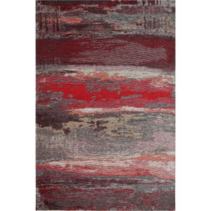 Běhoun Eco Rugs Red Abstract, 80x300cm