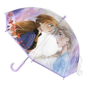 Transparentní dětský deštník Ambiance Frozen, ⌀71cm