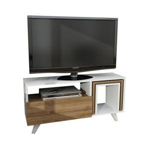 TV stolek v dekoru ořechového dřeva Novellis