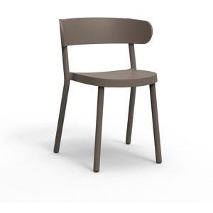 Sada 2 hnědých zahradních židlí Resol Casino