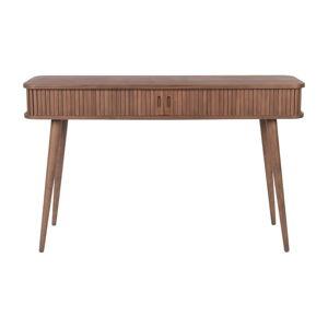 Hnědý konzolový stůl Zuiver Barbier, délka 120 cm