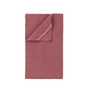 Cihlově červená pletená utěrka Blomus Wipe, 55x32cm