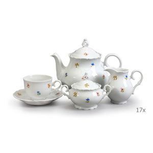Porcelánová sada na čaj Thun Ophelia