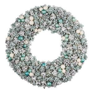 Modrý velikonoční věnec Ego Dekor Pearls,ø16cm
