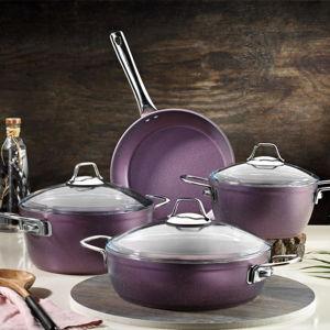 Švěstkově fialový set kuchyňského nádobí Antonia