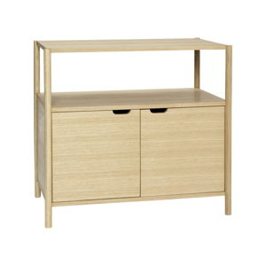 Komoda s policí Hübsch Oak Dresser With Shelf