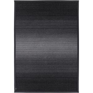 Antracitový oboustranný koberec Narma Moka Carbon, 80 x 250 cm