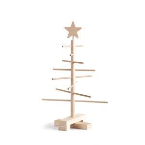 Dřevěný vánoční stromek Nature Home Xmas Decorative Tree, výška 45 cm