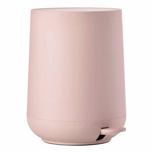 Růžový koupelnový pedálový koš Zone Nova,3l