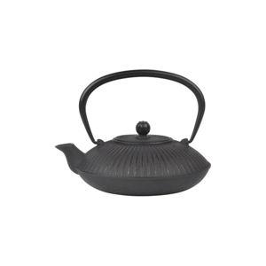Černá železná čajová konvice Bambum Mate, 1150 ml
