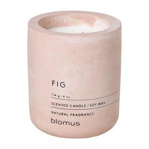 Svíčka ze sojového vosku s vůní fíků Blomus Fraga
